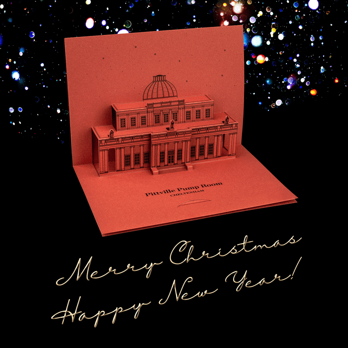 Pittville Pump Room Pop-Up Card by PaperLandmarks Greetings