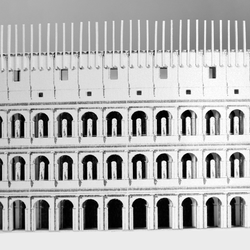 Roman Colosseum Paper Model by PaperLandmarks