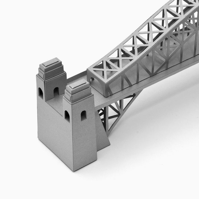 Sydney Harbour Bridge Paper Model by PaperLandmarks Detail Closeup