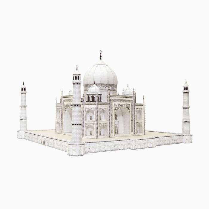 Taj Mahal Paper Model by PaperLandmarks Architecture