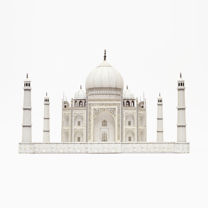 Taj Mahal Paper Model by PaperLandmarks