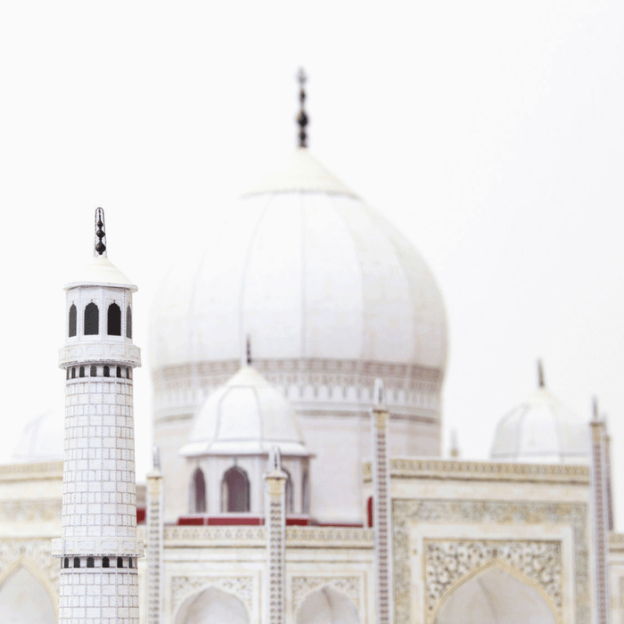 Taj Mahal Paper Model by PaperLandmarks White Cupola