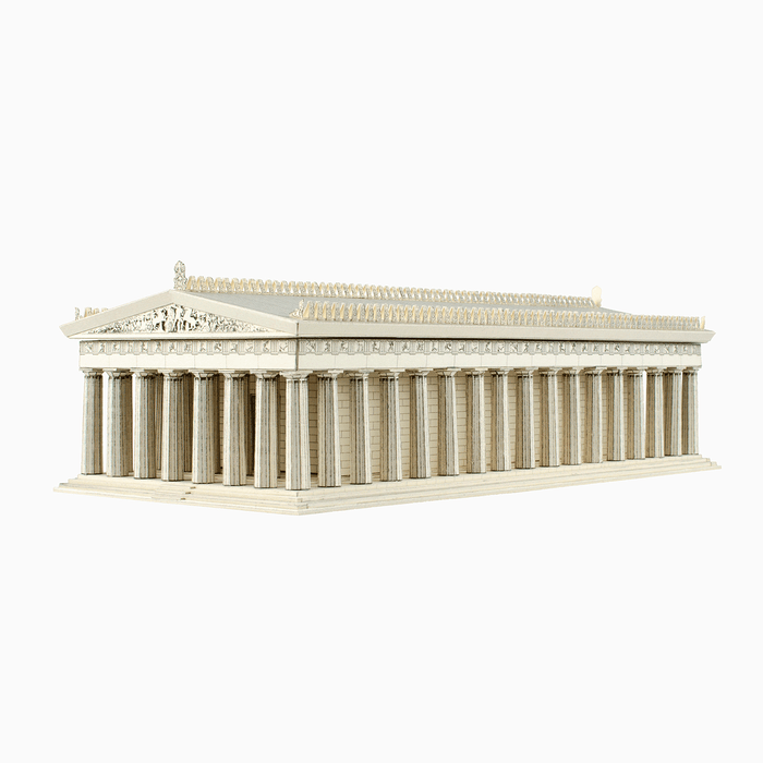 Parthenon Paper Model by PaperLandmarks Doric Temple
