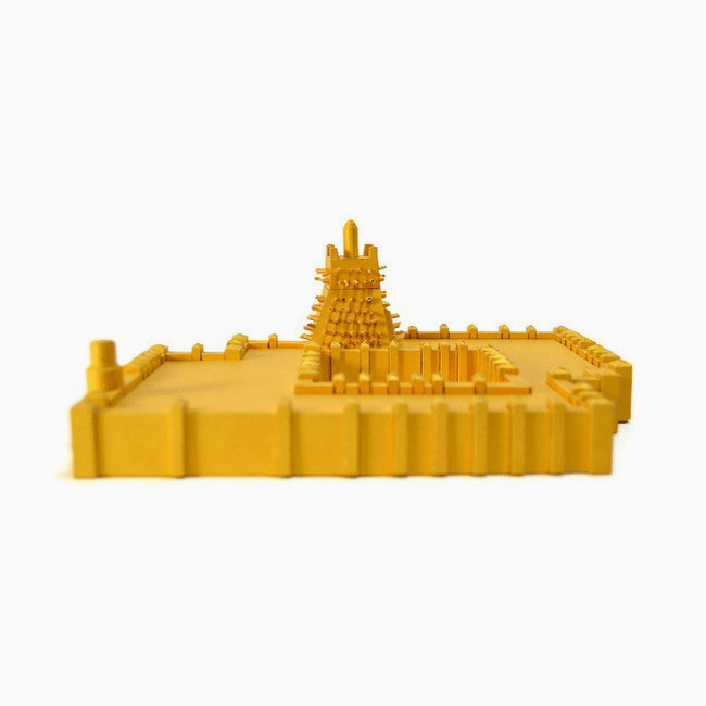 Sankore Mosque Timbuktu Paper Model by PaperLandmarks Mali Heritage