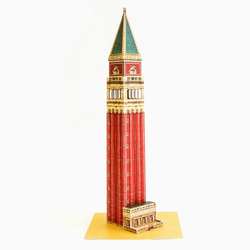 Venice Campanile Paper Model by PaperLandmarks