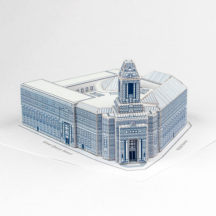 Freemasons' Hall Paper Model Building Kit by PaperLandmarks
