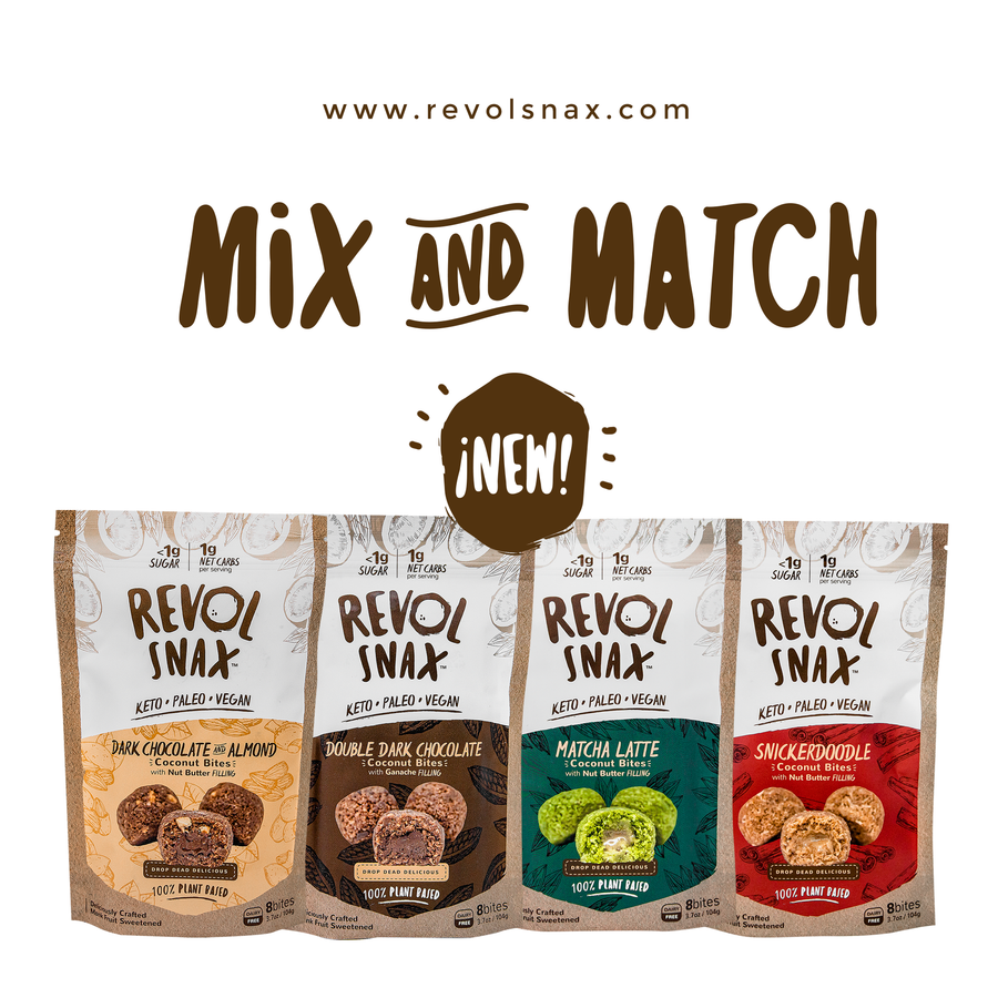Mix 'n' Match 4-Pack (Any 2 Flavors)