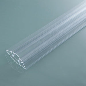 Polycarbonate Snap-Down Glazing Bar for Use With 4mm / 6mm / 8mm / 10mm Polycarbonate Roofing Sheet