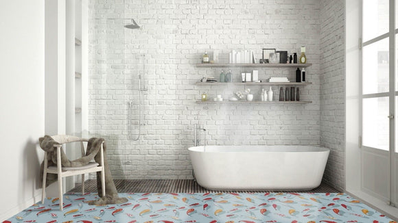 3D Porcelain Wall and Floor Tiles 400x400mm Square Metre Price is £56.90 - Undergroundflooring.co.uk