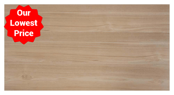 Alpine Beige Wood Effect Matt Porcelain 200x1200mm Wall and Floor Tile Our Lowest SQM Price Ever £17.95 - undergroundflooring.co.uk