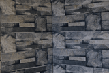 Coral Grey Split Face Matt Porcelain 300x600mm Wall Tile Square Metre Price is £19.90 - undergroundflooring.co.uk