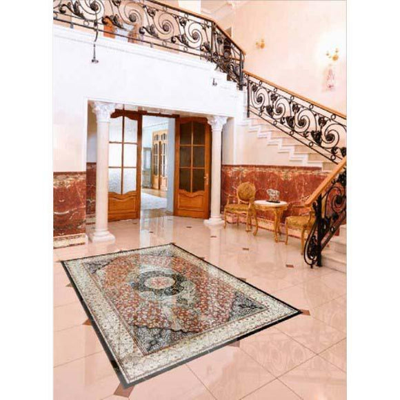 Da Vinci Alfombra 4523 Rug Design 1200x2000mm Porcelain Relief Tile Set Price is £390.00 - undergroundflooring.co.uk