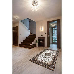 Da Vinci Alfombra 4530 Rug Design 1200x2000mm Porcelain Relief Tile Set Price is £390.00 - undergroundflooring.co.uk