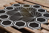 Yoda Hexagon Matt Ceramic 200x230mm Wall and Floor Tile Square Metre Price is £29.90