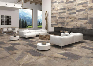 ITT Porcelain Multislate 300x600mm Wall and Floor Tile Square Metre Price is £19.90 - undergroundflooring.co.uk