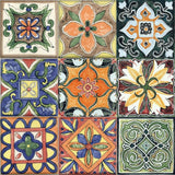 Mexican Talavera Rectified Matt Ceramic 300x300mm Wall and Floor Tile Square Metre Price is £49.90