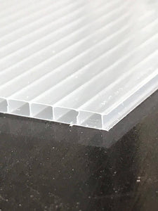10mm Polycarbonate Roofing Sheet Opal White Various Size 10 Year Warranty Double Side UV Protection From £9.63 - Undergroundflooring.co.uk