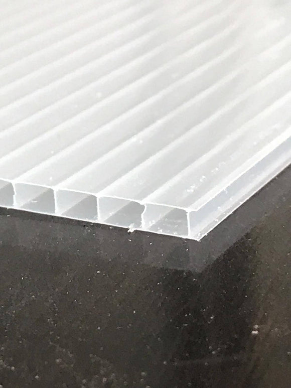 4mm Polycarbonate Roofing Sheet Opal White Various Size 10 Year Warranty Double Side UV Protection From £6.55 - Undergroundflooring.co.uk