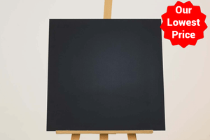 Super Mega Black Matt Porcelain 600x600mm Wall and Floor Tile Our Lowest SQM Price Ever £14.95 - undergroundflooring.co.uk