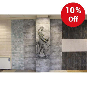 Valentina Lady 300x600mm Decorative Ceramic Wall Tile Our Lowest Set Price Ever £44.82 - undergroundflooring.co.uk