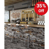 Wild West Wood Effect Glazed 150x800mm Wall and Floor Tile Our Lowest SQM Price Ever £12.22 - undergroundflooring.co.uk