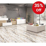 Winter Wood Effect Glazed 150x800mm Wall and Floor Tile Our Lowest SQM Price Ever £12.22 - undergroundflooring.co.uk