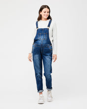 Load image into Gallery viewer, denim overalls