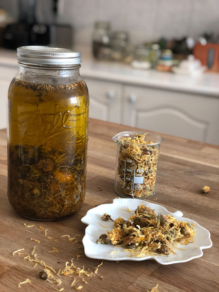 Make Your Own Oil Infusion - Part 1