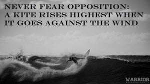 Never fear opposition