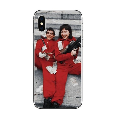 Coque iPhone Tokio et Rio La Casa de Papel