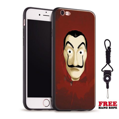 Coque iPhone Masque La Casa de Papel