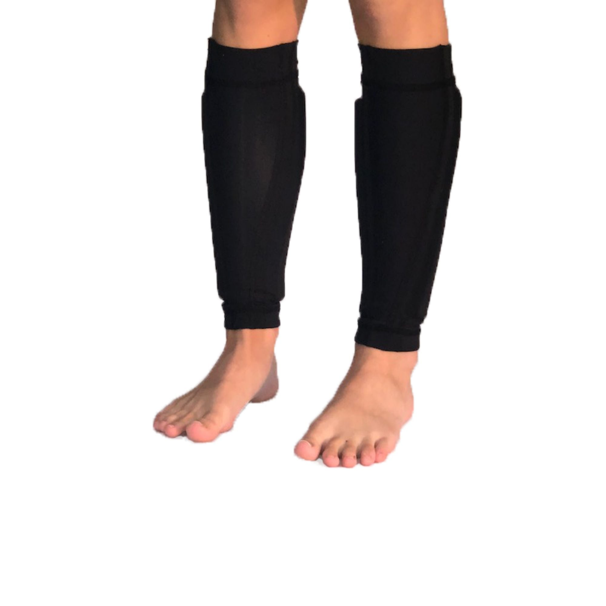 MEN'S BLACK COMPRESSION SLEEVE LEGS