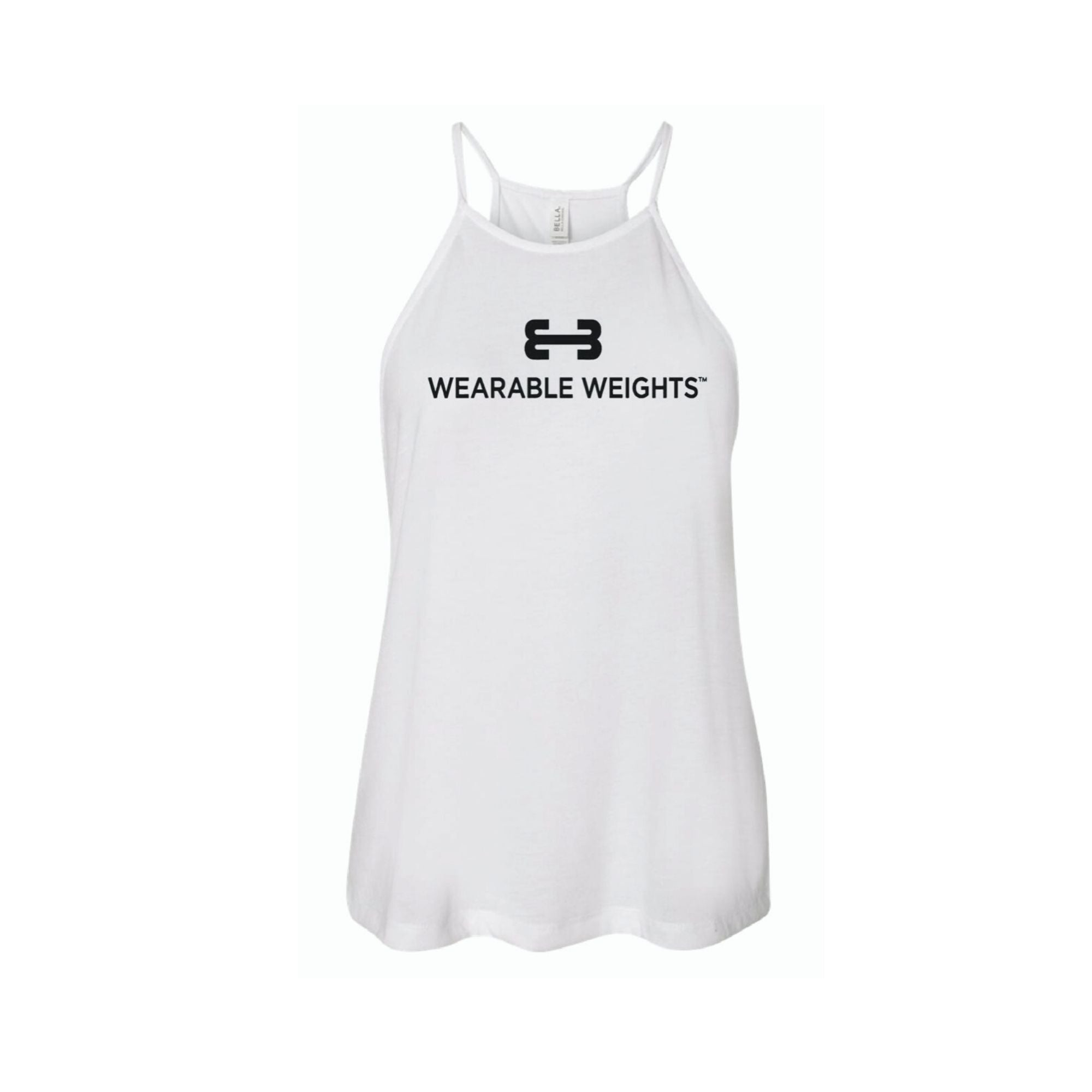 Wearable Weights – White Flowy Tank