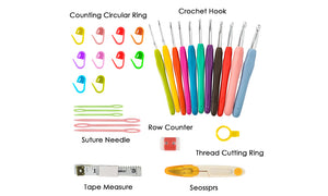 30 Pcs Crochet Sewing Tool Set