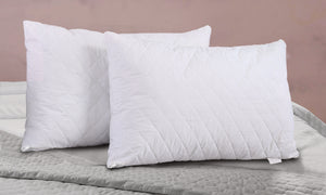 Quilted Cotton Pillow Protectors