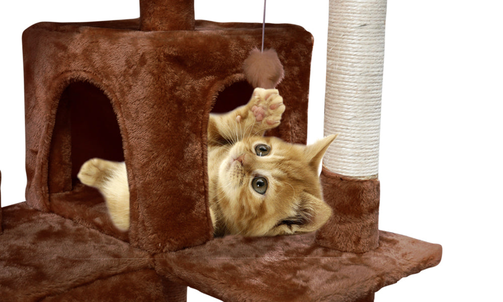 1.3-2.1M Cat Scratching Perch Post Tree