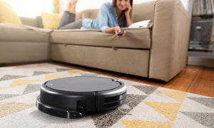 Automatic Robot Vacuum Cleaner Sweeper with 4 Cleaning Modes