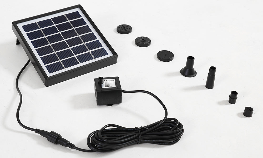 Solar Fountain Water Pump Kit