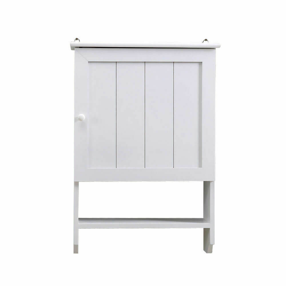 Levede Wall Hung Bathroom Storage Cabinet Tallboy Toilet Cupboard Towel Hanging