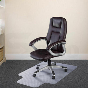2x Home Office Room Work Carpet Chair Mat Computer Floor Protector 120x90cm