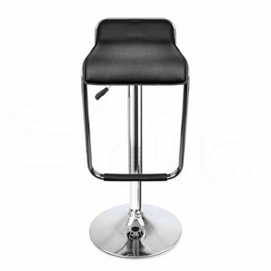 4x Levede PU Leather Swivel Bar Stools Kitchen Dining Chair Gas Lift Adjustable