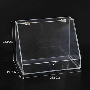 Cosmetic Organizer Clear Acrylic Jewellery Box Makeup Storage Case Drawers