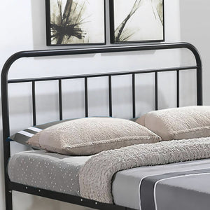 Levede Stylish Metal Bed Frame Base in King Size in Black Colour