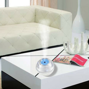 USB Air Humidifier Ultrasonic LED Crystal Nightlights Mist Diffuser Purifier