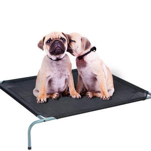 PaWz Bed Trampoline Pet Dog Puppy Cat Heavy Duty Frame Hammock Mesh Size L