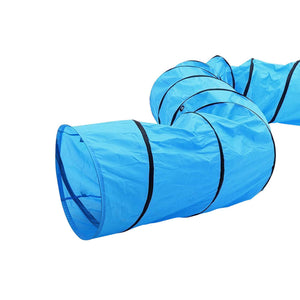 PaWz 60CMx4.5M Outdoor Pet Dog Agility Training Activity Exercise Long Tunnel