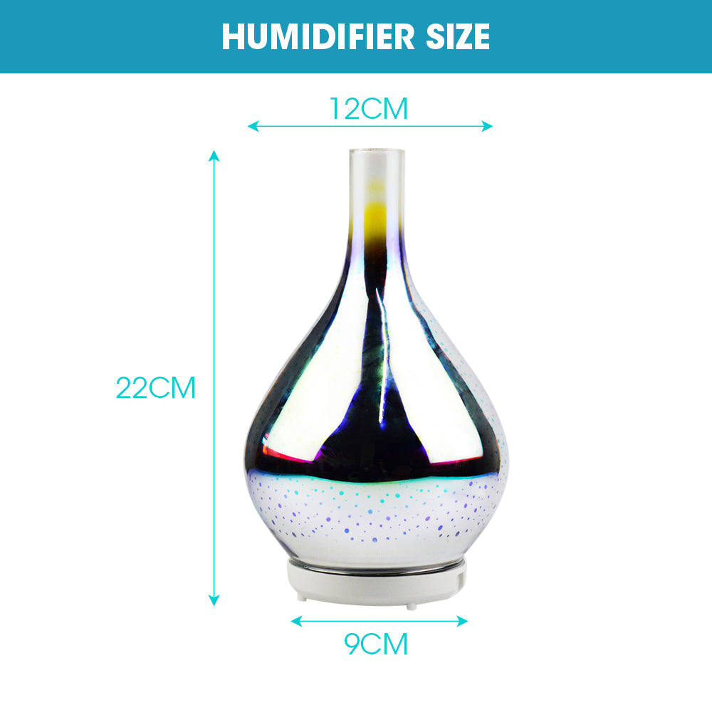 Aroma Diffuser Aromatherapy 3D Ultrasonic Humidifier Essential Oil Air Purifier