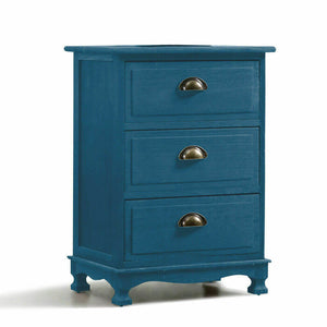 Levede Bedside Tables Chest of Drawers Table Storage Cabinet Dresser Vintage
