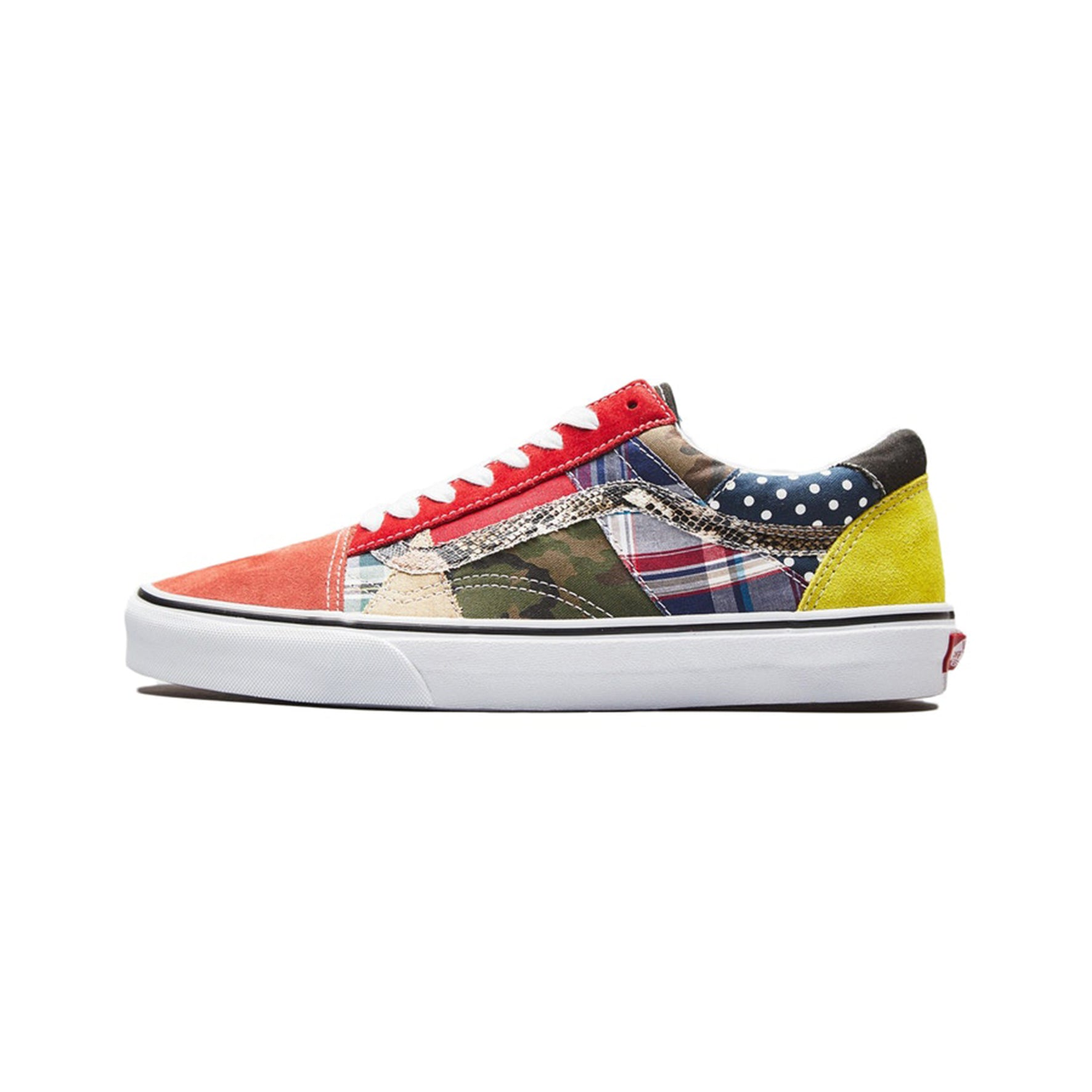 Vans Old Skool Patchwork Factory Floor - VN0A38G22BF - Sneakersfromfrance