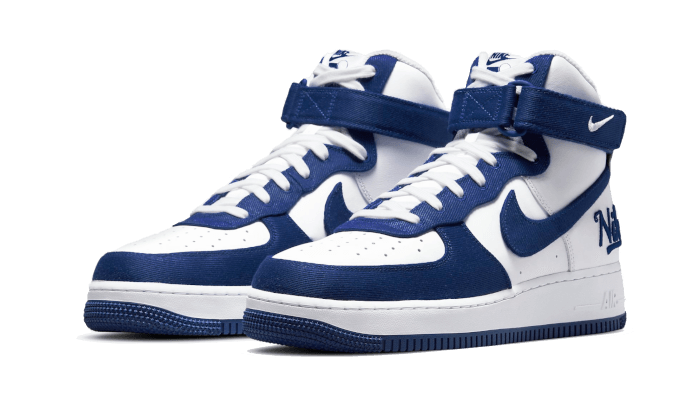 Air Force 1 High EMB Dodgers - DC8168-100 - Sneakersfromfrance